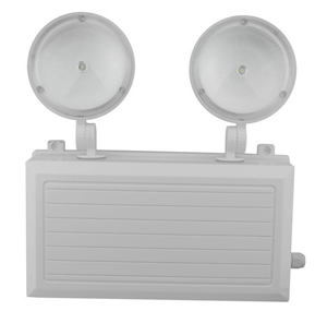 Waterproof Twin Heads LED Emergency Light