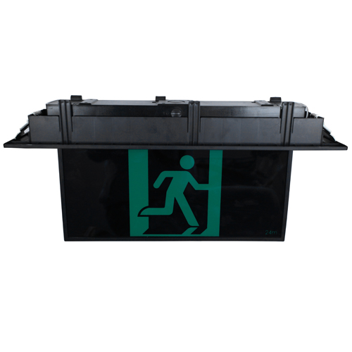 Black Recessed LED Exit Sign(EB960-RB)