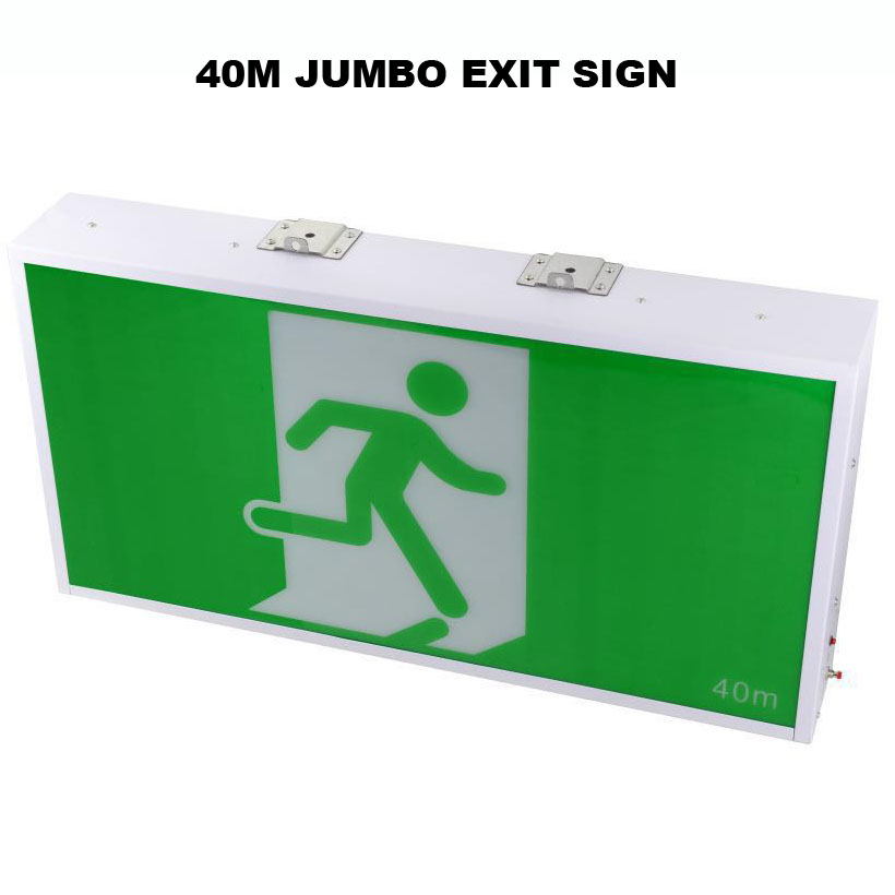 40M LED Exit Sign board(EB919)